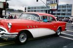Buick, 1955 Buick Special, Car, Motel, building, street, VCCV03P03_01