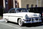 1954 Ford Custom Coupe, chrome grill, two-door coupe, 1950s, VCCV04P11_10