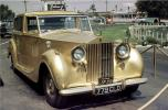 Golden Rolls Royce, automobile, Palace of Living Art, Movieland Wax Museum, Hood Ornament, Buena Park, California, July 1971, 1970s, VCCV06P07_17