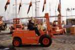 Clark Forklift, Ruhr Intrans, July 1962, 1960s, VCDV01P01_08