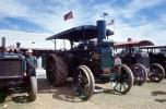 Rumely Oilpull Tractor, Steam Traction, confederate battle flag, Advance-Rumely Company, 1950s, VCFV01P01_14