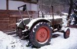 Tractor in the Snow, Cold, Ice, Chill, Chilly, Chilled, Cool, Frigid, Frosty, Frozen, Icy, Snowy, Winter, Wintry, VCFV01P05_18