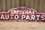 Chrisman Auto Parts sign, VCOV01P04_13