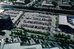 Parking Lot, LAX, parked cars, stalls, automobile, sedan, VCRV02P03_11