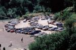 parking lot, Rio Nido, Sonoma County, California, VCRV03P06_01