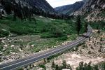Sonora Pass, Sierra-Nevada Mountains, Highway, Roadway, Road