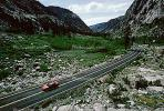 Sonora Pass, Sierra-Nevada Mountains, Highway, Roadway, Road, Car, Vehicle, Automobile