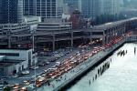 the Embarcadero Freeway, Loma Prieta Earthquake, 1989, Level-F traffic, 1980's, VCRV06P10_06