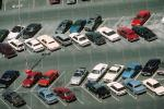 car, automobile, Vehicle, Sedan, parked cars, stalls, Parking Lot, Las Vegas, Nevada