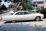 BUICK ELECTRA 225, whitewall tires, automobile, suburbia, June 1966, 1960s, VCRV08P01_03