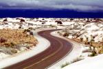 S-curve, Curve, Hwy, Hiway, Hiwy, White Sands National Monument