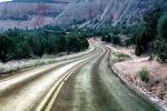 Highway-9, Road, Roadway, Vanishing Point, Zion National Park