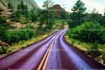 Zion National Park, Road, Roadway, Highway-9