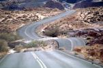 Valley of Fire, east of Las Vegas Nevada, Road, Roadway, Highway