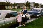 Daughter and Mother, Cadillac, Oldsmobile, Cars, April 1966, 1960s, VCRV21P12_16