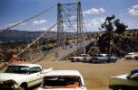 Chevy, Dodge, cars, Royal Gorge Bridge, June 1960, VCRV22P02_13