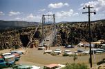 Chevy, Dodge, cars, Royal Gorge Bridge, June 1960, VCRV22P02_14