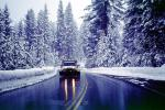 Wet Slushy Road, Truck, Highway, VCSV01P03_04