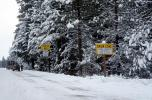 snow zone, Santiam Pass, Highway-20, VCSV01P05_01