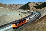 S-Curve, Interstate Highway I-580, Castro Valley, traffic, cars, freeway, VCTV01P02_16