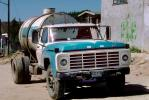 potable water truck, Ford, grill