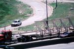 Denver, Interstate Highway I-25, flatbed trailer, Semi, VCTV04P12_19