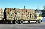 Hay Truck, Semi Trailer Truck, cabover, VCTV05P10_18
