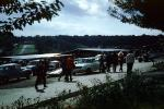 Crowds, cars, Brands Hatch, Kent, England, September 28, 1969, 1960s, VFRV01P01_05