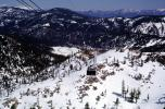 Squaw Valley, pine trees, evergreen forest, snow, ice, hills, Sierra-Nevada Mountains, VGTV01P09_17
