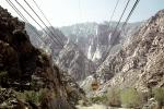 Cables, Steel Truss Pylon, tower, Aerial-tram car, Palm Springs Aerial Tramway, VGTV01P11_16
