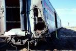 Train accident near Kingman, Arizona, caused by flash flooding, daytime, daylight, VRAV01P10_12