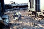 Train accident near Kingman, Arizona, caused by flash flooding, daytime, daylight, VRAV01P11_12
