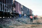 Train accident near Kingman, Arizona, caused by flash flooding, daytime, daylight, VRAV01P15_10
