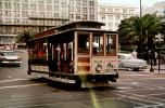 520, Union Square, Downtown San Francisco, cars, Geary Street, 1950's, VRCV02P12_10
