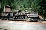 Willamette Shay gear-driven logging locomotive, Water Tower, Rail Road Park, Dunsmuir, VRFV01P02_12