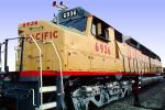 "UP 6936, EMD DDA40X ""Centennial"" locomotive, Union Pacific Railroad, VRFV02P09_12"