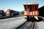 ATSF 347C, Caboose, Santa-Fe, Diesel Electric Locomotive, Red/Silver Warbonnet Chief, F-Unit, VRFV04P04_07