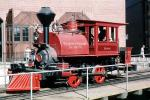 Sespe, Fillmore & Western Railway Co., Steam Engine, Turntable, Roundhouse, VRFV04P14_14