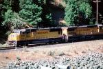 UP 4416, UP 9212, Union Pacific, Feather River Canyon, Sierra-Nevada Mountains