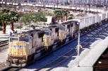 UP 4991, EMD SD70M, Union Pacific, west of Palm Springs