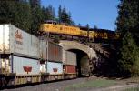 UP 9724 GE C44-9W, Williams Loop, California, Union Pacific, APL piggyback Container Trailers, 1993, VRFV08P07_02