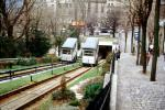 Montmartre Funicular, Paris Incline, January 1986, 1980's