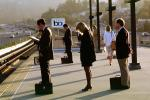 Bay Area Rapid Transit, Passengers waiting for BART, commuters, VRHV02P02_18