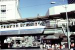 Monorail, Cars, Vehicle, Automobile, Seattle, August 1986, 1980s