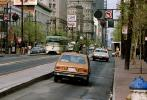 Market Street, Cars, vehicles, Automobile, 1981, 1980s