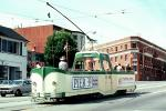 Blackpool-England, No. 228, Built 1934, F-Line, Municipal Railway, Muni, San Francisco, California