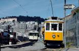 Trolley #122, Market Street, F-Street Line, Tram operated in Porto Portugal, 122