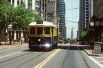 Market Street, F-Line, Trolley, Electric Trolley, San Francisco, California