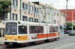 1315, MUNI, Trolley, Tracks, US Standard Light Rail Vehicle, Boeing Vertol USSLRV