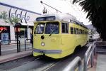 Baltimore-Maryland, No. 1063, F-Line, Trolley, San Francisco, California